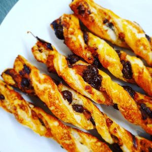 Chocolate Orange Straws